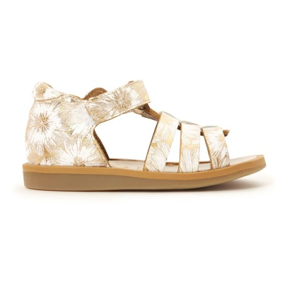 Pom d'Api New Spring Strap Poppy Leather Sandals-listing