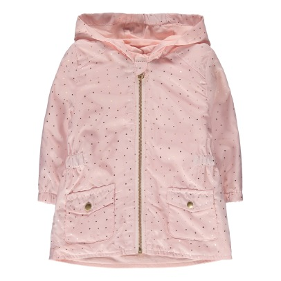 CARREMENT BEAU Dotted Wind Breaker-listing