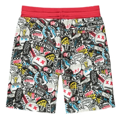Little Marc Jacobs Graffiti Punk Fleece Board Shorts-product