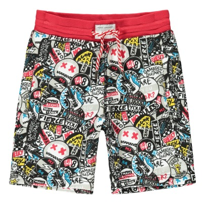 Little Marc Jacobs Bermudas Muletón Graffiti Punk-listing