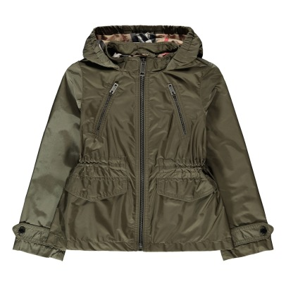 Burberry Halle Belted Wind-Breaker Jacket-listing