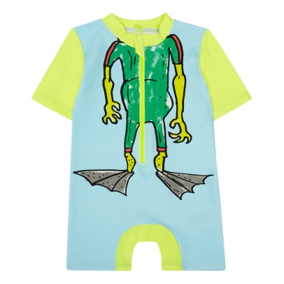Stella McCartney Kids Sonny Monster UV Protective Wetsuit-listing