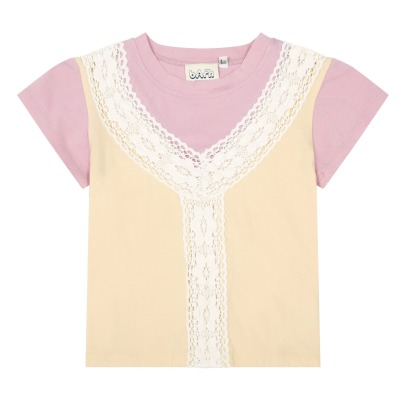 Atelier Barn Plume Lace T-Shirt-listing