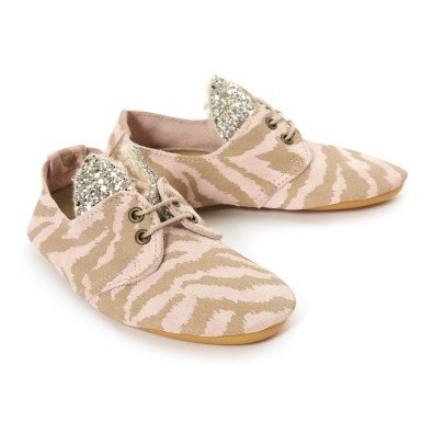 Sale New Styles Outlet Shop Offer Sale - Glitter Zebra Ear Suede Loafers - Anniel Anniel Discount 2018 Cheap Sale Brand New Unisex v2Qq6otr5R
