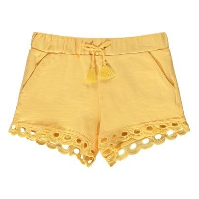 Sale - Pompom Embroidered Finish Fleece Shorts - Chloé Chloé yavKYYQ