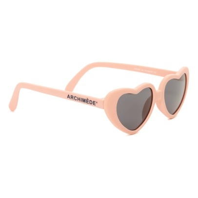 Archimède Heart Translucent Sunglasses-listing