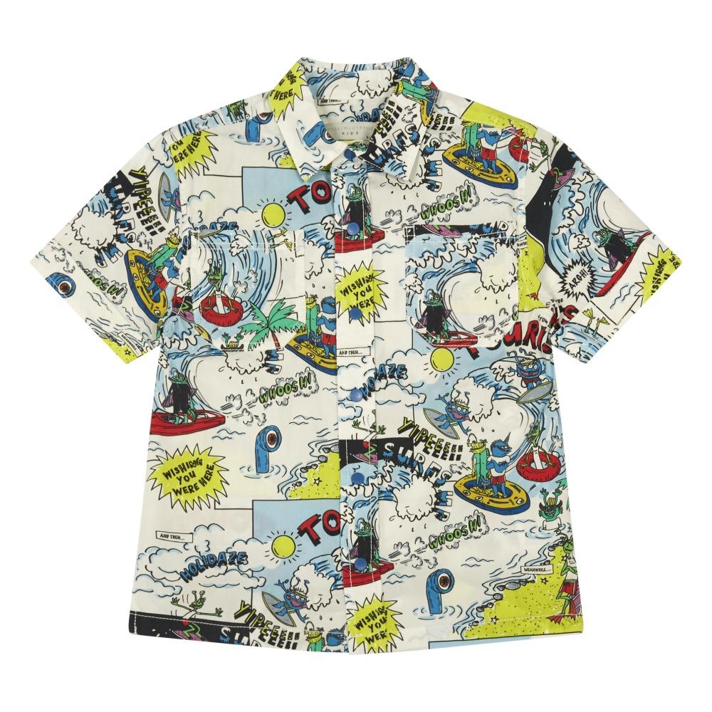 Sale - Rowan Comic Strip Organic Cotton Shirt - Stella McCartney Kids Stella McCartney Cheap Eastbay Cheap Sale Shop For Comfortable Online Discount View Shop For Cheap Price 1jcLXI