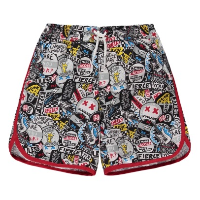 Little Marc Jacobs Graffiti Punk Swimshorts-product