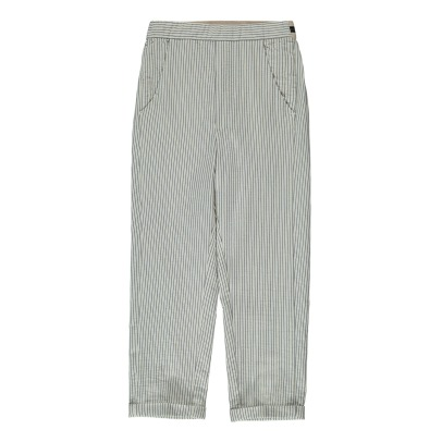 Bellerose Lize Striped Loose Trousers-listing