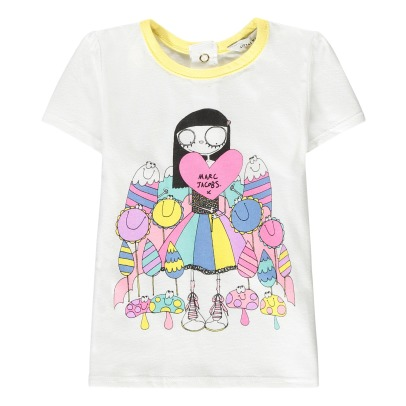 Little Marc Jacobs T-shirt cuore Miss Marc-listing