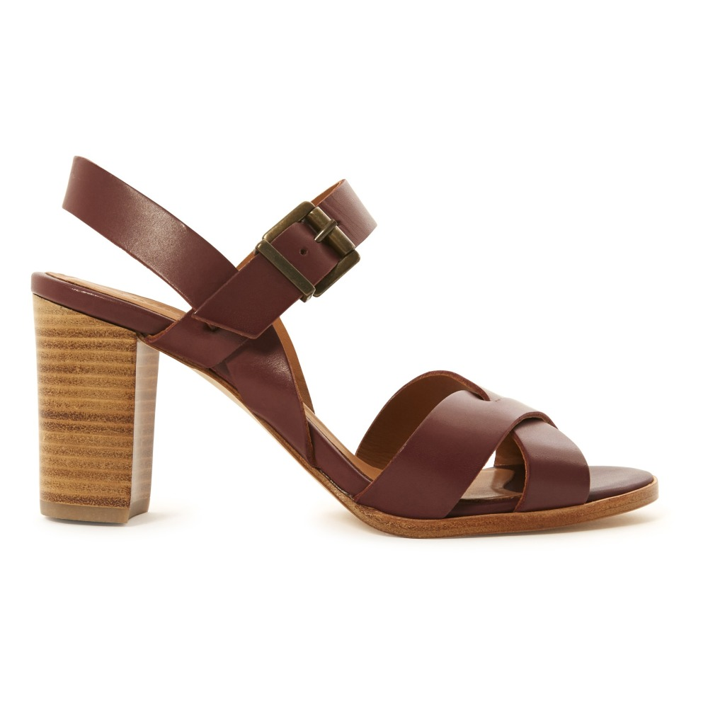 Sale - Anoushka Leather Heeled Sandals - Anthology Paris Anthology Paris 2fF45yksVq