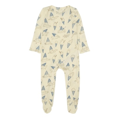 Stella McCartney Kids Pyjama aus Bio-Baumwolle Ice Cream Rufus -product