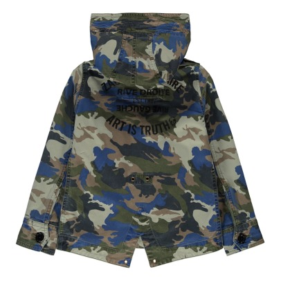 Zadig & Voltaire Parka camouflage Charlie -listing