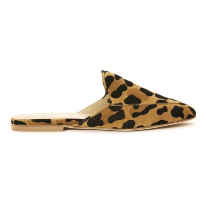 Anniel Leopard Suede Mules-listing