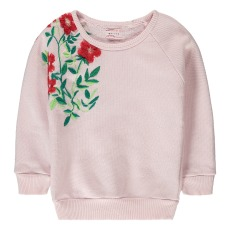 product-Morley Bass Embroidered Flower Sweatshirt