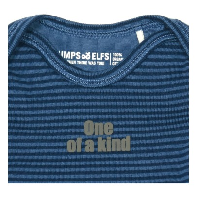 Imps & Elfs One Of A Kind Striped Organic Cotton T-Shirt-listing