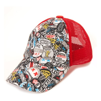 Little Marc Jacobs Cappellino Graffiti Punk-listing