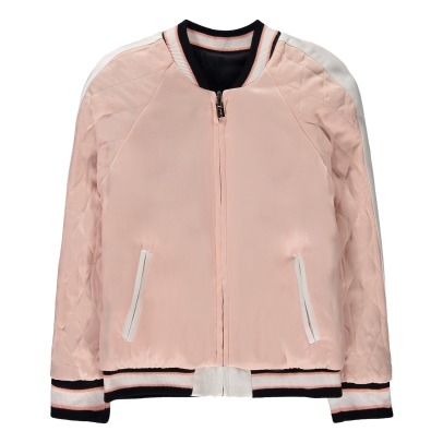 Chloé TOucan Quilted Reversible Baseball Jacket-listing
