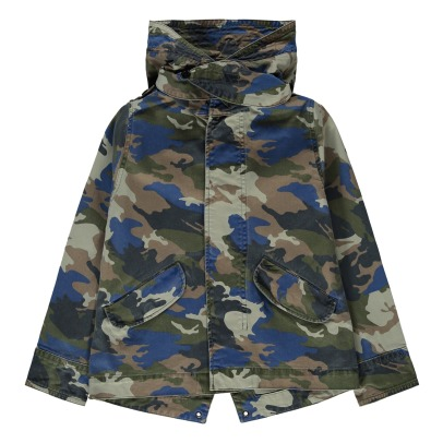 Zadig & Voltaire Charlie Camouflage Parka-listing