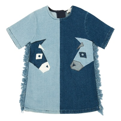 Stella McCartney Kids Maude Fringed Donkey Dress-listing