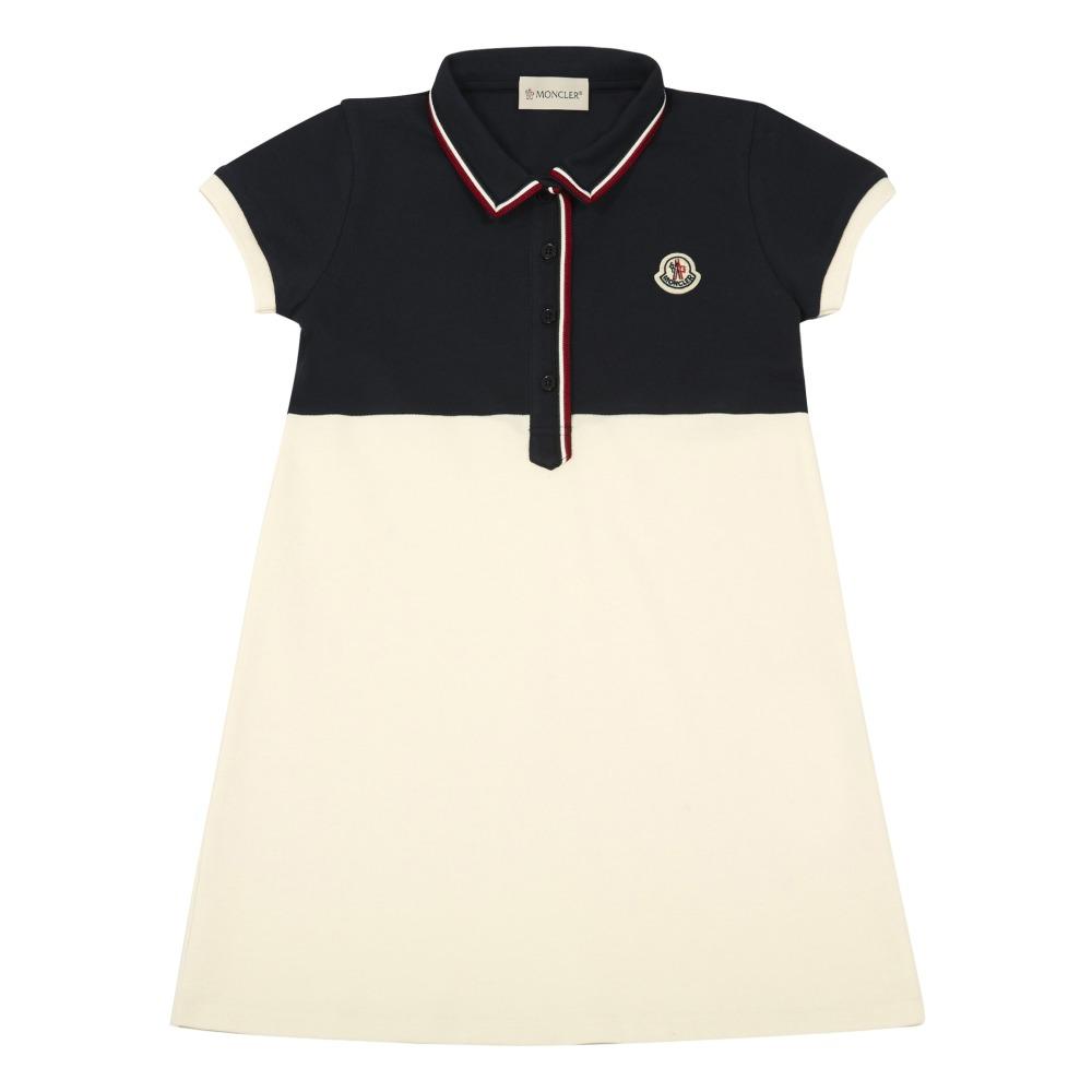 Moncler Polo-robe bicolore u2I8iKr3d