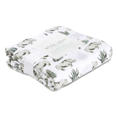 Aden + Anais White Label Couverture des rêves Serengeti en mousseline de coton-product