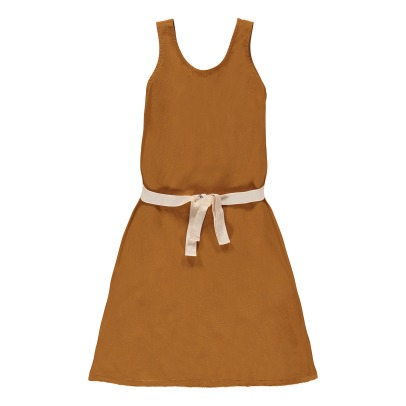 Little Creative Factory Dancer Cotton Belted Dress - Exclusive Little Creative Factory x Smallable x Isetan-listing