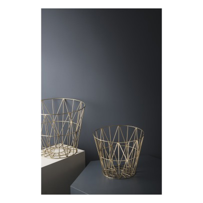 Ferm Living Wire Small Basket D40cm-listing