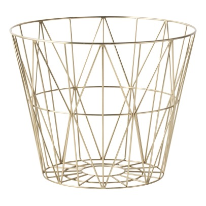 Ferm Living Wire Brass Basket D60cm-listing