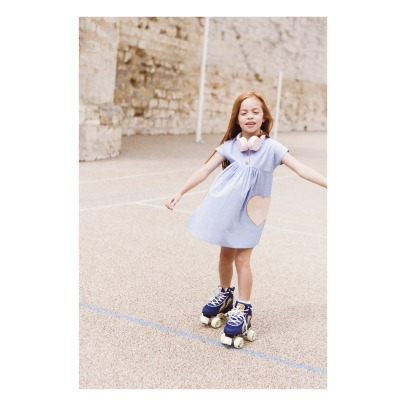 Blune Kids Robe Chambray Poches Cœurs Candy-listing