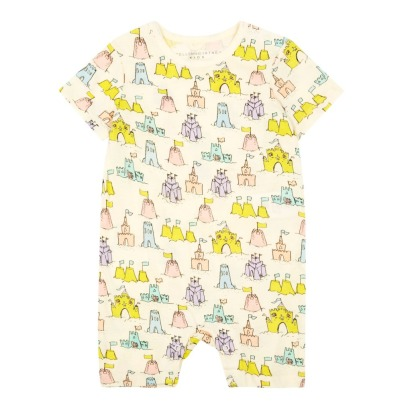 Stella McCartney Kids Chateaux Organic Cotton Playsuit-listing