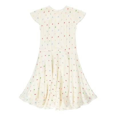 Atelier Barn Lina Dobby Spot Embroidered Dress-listing