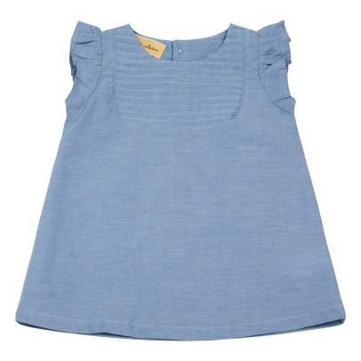 Lab - La Petite Collection Robe Chambray Volants-listing
