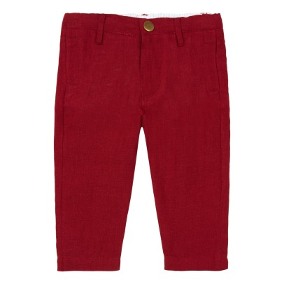 Lab - La Petite Collection Linen Chino Trousers-listing