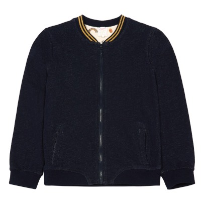 Little Karl Marc John Brindisy Lurex Fleece Teddy Jacket-listing