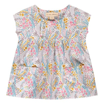 Lab - La Petite Collection Floral Pinafore Dress-listing
