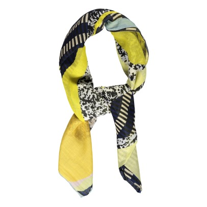 Ma poésie Agathe Silk and Cotton Scarf-listing