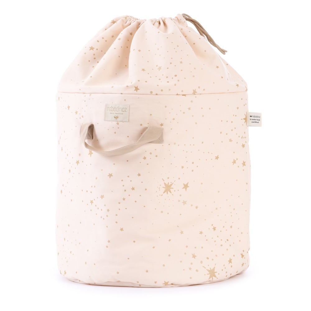 Stella Bamboo Cotton Storage Bag-product  sc 1 st  Smallable & Stella Bamboo Cotton Storage Bag Powder pink Nobodinoz Design