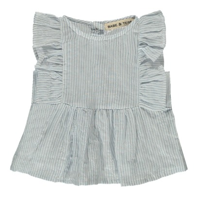 Babe & Tess Blouse Rayée Volants-product