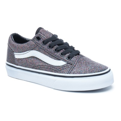 Vans Old School Glitter Laced Trainers-listing