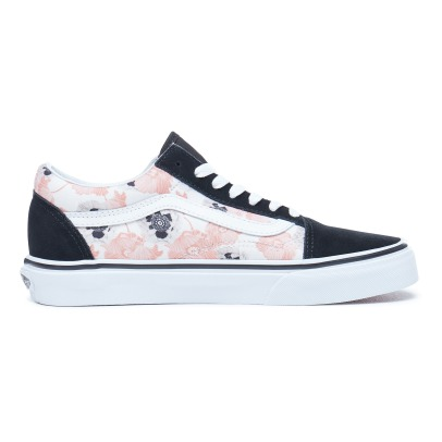 Vans Old Skool Suede and Canvas Floral Laced Trainers-listing