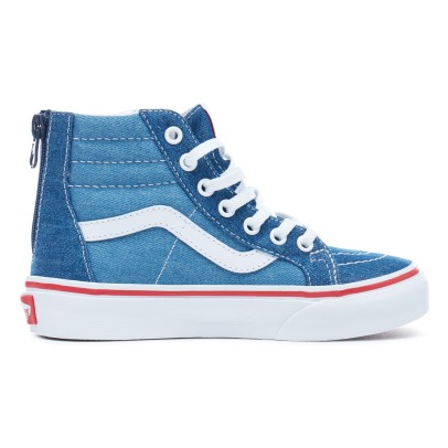 Vans SK8-Hi Zip Denim High Top Trainers-listing