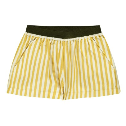 Caramel Bedok Striped Shorts-product