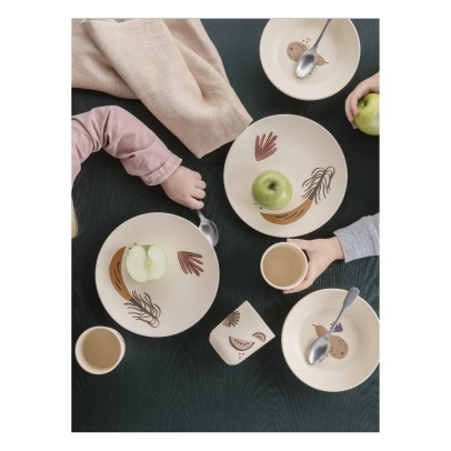 Ferm Living Kids Fruiticana Bamboo Tableware-listing
