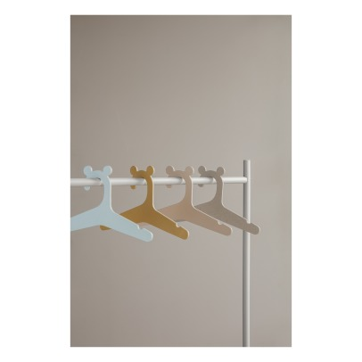 Ferm Living Kids Bear Ears Hangers - Set of 5-listing