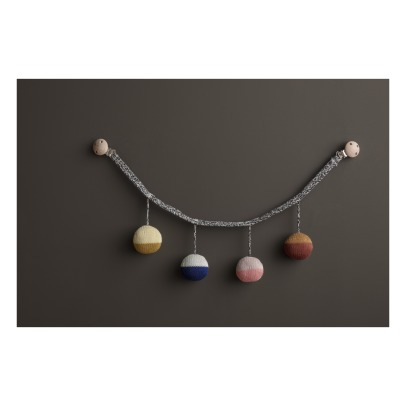 Ferm Living Kids Organic Cotton Push Chair Balls Mobile-listing