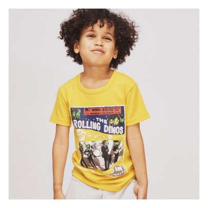 Milk on the Rocks Tyler Rolling Dinos T-Shirt-listing
