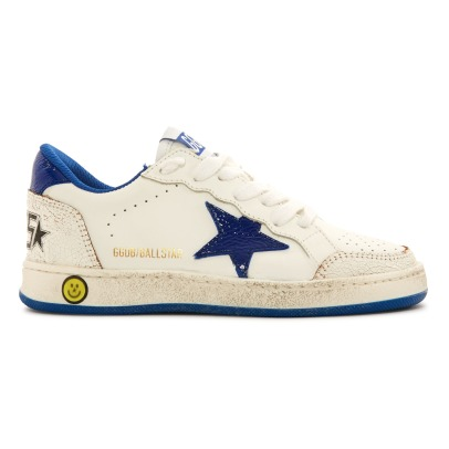 Golden Goose Deluxe Brand Star Ball Lace-Up Leather Low Top Trainers-listing