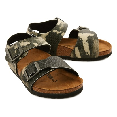 Birkenstock New York Camo Sandals-listing
