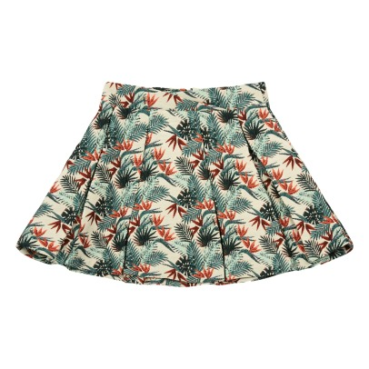 Little Karl Marc John Baty Tropical Jacquard Skirt-listing